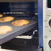 "Baking my tarts in a KitchenAid Mini Pie Pan with Removable Bottoms KitchenAid 12"" Convection Digital Countertop Oven"