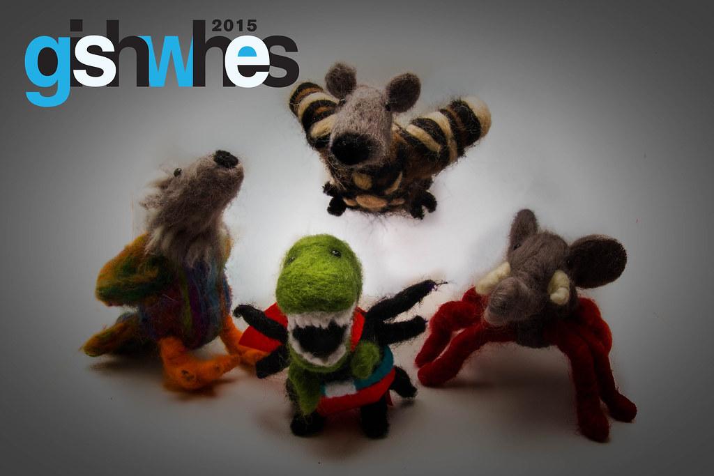 giSHWes 2015 Mascots