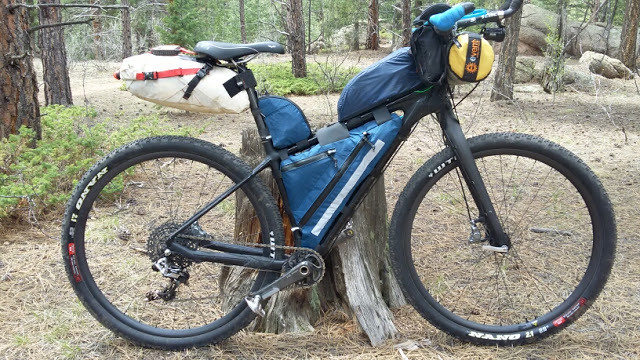 Marshall Bird's Tour Divide Rig - right side