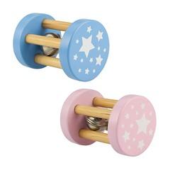 I butiken har vi många olika modeller av babyskallror i trä. Ett par av de senaste tillskotten är dessa klassiska hjulskallror från Bigjigs. Greppvänliga för små babyhänder och med rolig bjällra! 59 kr/styck. #babyleksaker #leksaker #baby #skallra #hjulsk