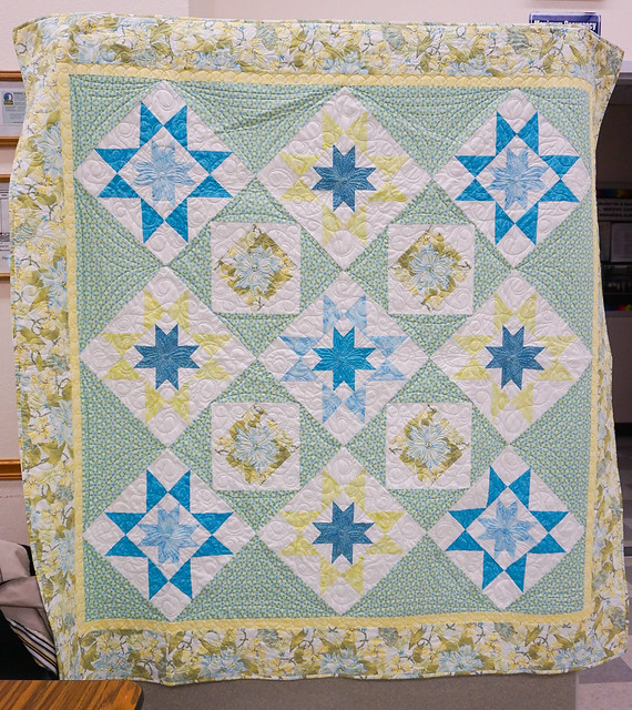 "Toni & Cyndy's ""Star Gazing"" Quilt"