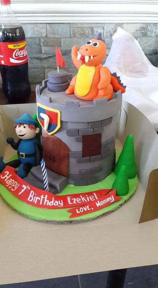 Cute Birthday Cake by Concon Mendoza