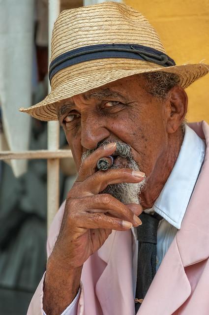 Old Gentleman from Cuba