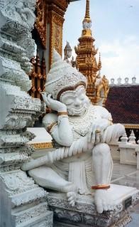 Statue in Buddhist Temple
