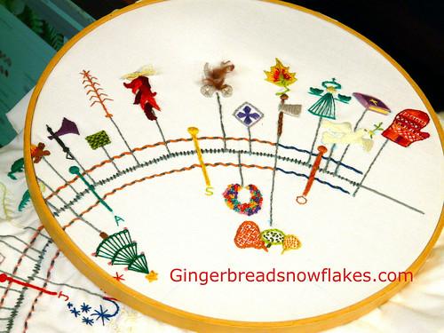 Embroidered Primstav