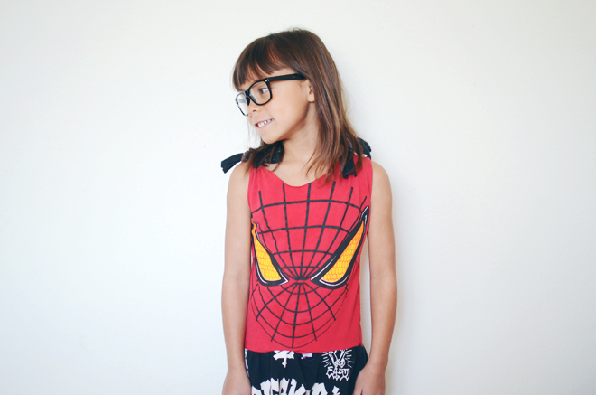 spider-man t-shirt dress