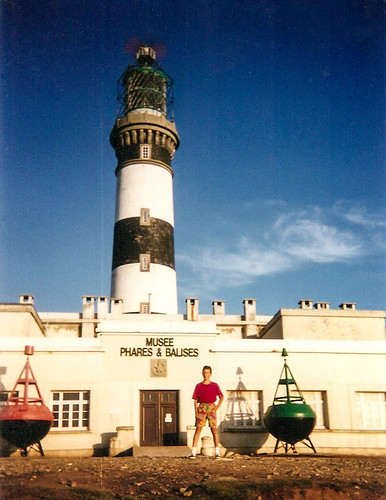 A long time ago, at Ouessant's Creac'h lighthouse