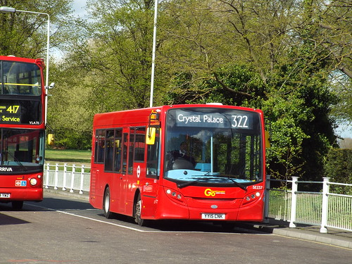 Brand new - Go-Ahead London General SE237, YY15CNK on stand at Crystal Palace