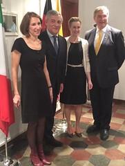 Con Antonio Tajani e Joseph Jung