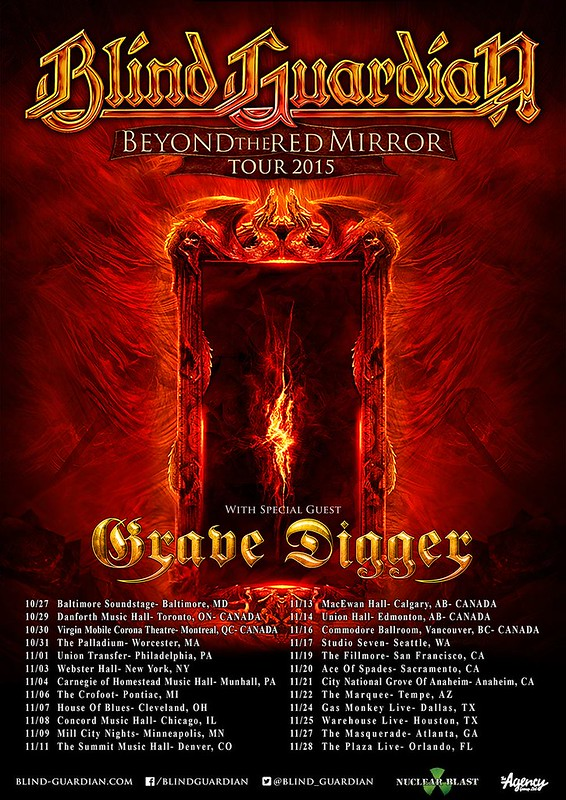 Blind Guardian at Baltimore Soundstage