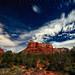 Moonlit Sedona #2 by Matt Anderson Photography