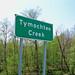 Tymochtee Creek sign on US 23.