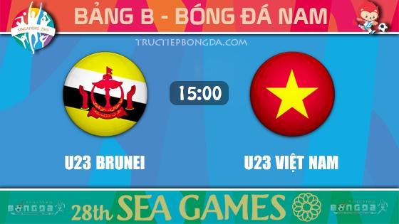 U23 Brunei vs U23 Việt Nam