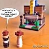 #LEGO #StarWars #HanSolo #LeiaOrgana #Skywalker #MovieTheater #cinema #Indy #IndianaJones #LEGOstarWars #microbuild #Microfigs inspired by the work of @nicksbricks @lego_group @lego @StarWars @starwarsclubve @disney @bricknetwork @brickcentral
