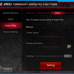 MSI GS60 2QE Ghost Dragon Gaming Center, Instant Play, mouse