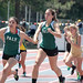 Small photo of Anna handing off to Julia in the 4x100m Relay