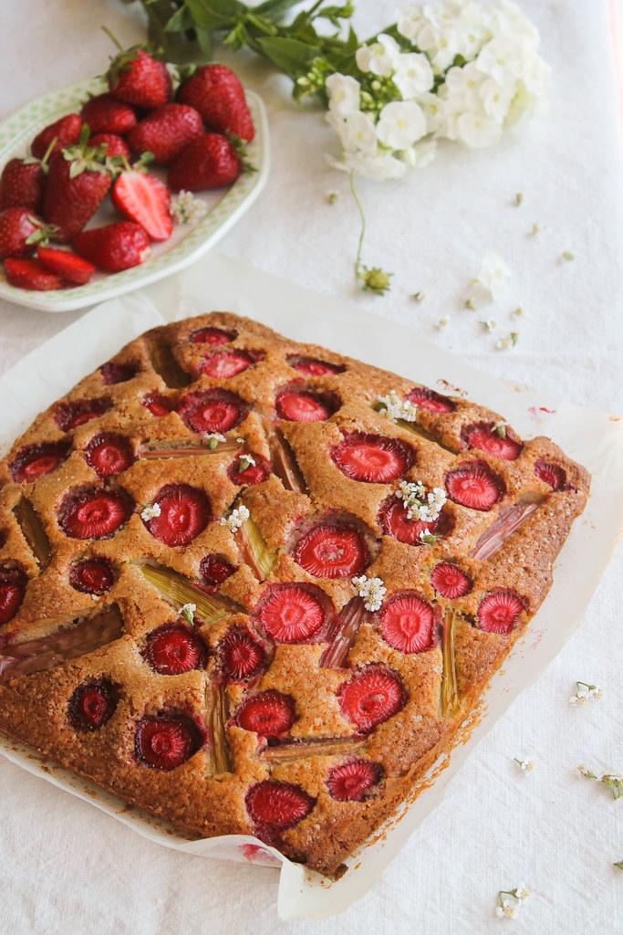 Gâteau aux fraises recette