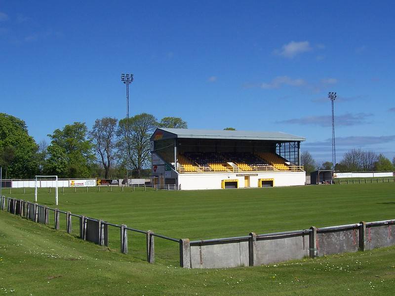Forres Mechanics Football Club, Mosset Park, Forres, Morayshire, May 2015