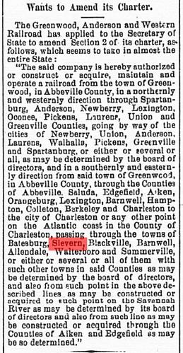 Greenwood, Western
