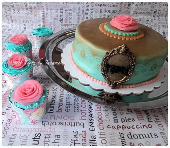 Elegant Cake by Janarie Awingan of Sweet Tooth