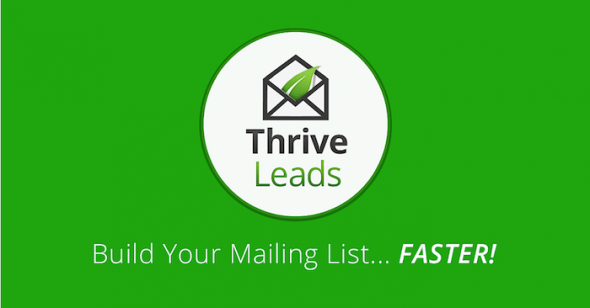 Thrive Leads v1.95.4 - Builds Mailing List