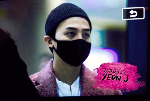 Big Bang - Incheon Airport - 22mar2015 - G-Dragon - J_withG - 02