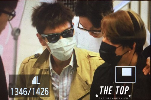 Big Bang - Gimpo Airport - 05jun2015 - TOP - The TOP - 02