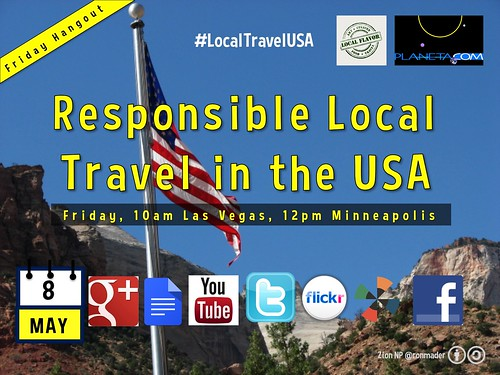 May 8 Responsible Local Travel in the USA #localtravelusa