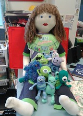 Susan and the ten little aliens
