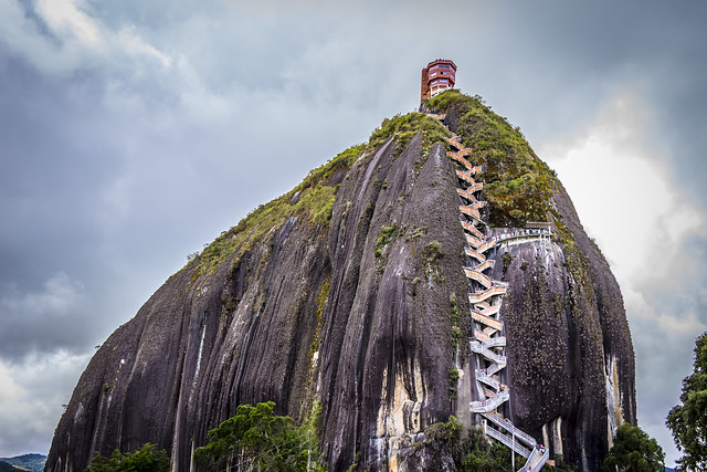 "La Piedra Del Peñol (Spanish for ""The Rock of Guatapé"")"