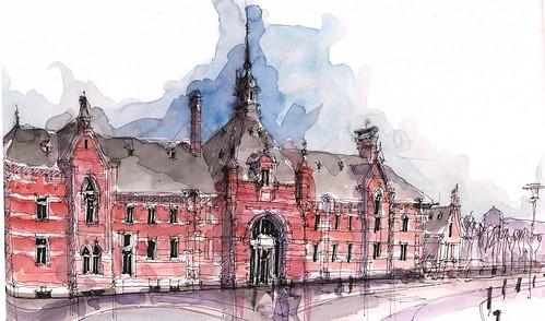 Turnhout, Bahnhof, BEL