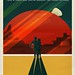 Travel Poster: Phobos and Deimos by Official SpaceX Photos