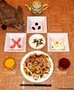 Seara (sea rabbit).  Photograph by Dr. Takeshi Yamada. 20120607 020 Chicken & Mushrooms. SR with Nori. Tomato. Apple. Chocolates. OJ BT