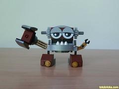 LEGO MIXELS KAMZO LEGO 41538 Klinkers Tribe Mixels Serie 5