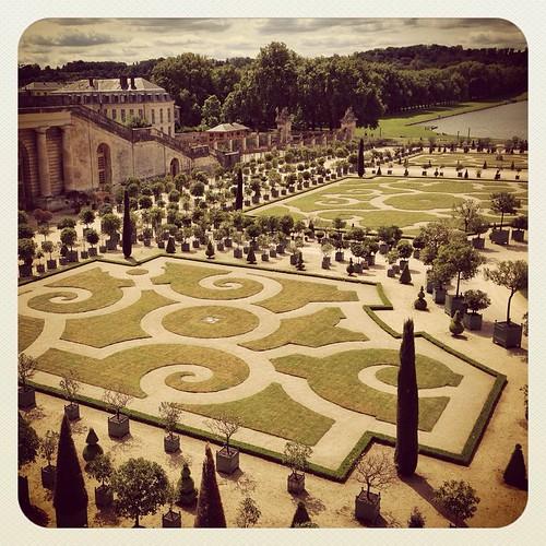 Versailles orange garden