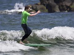 2016 Steel Pier Surf Classic  Virginia Beach Va.  longboard surfing
