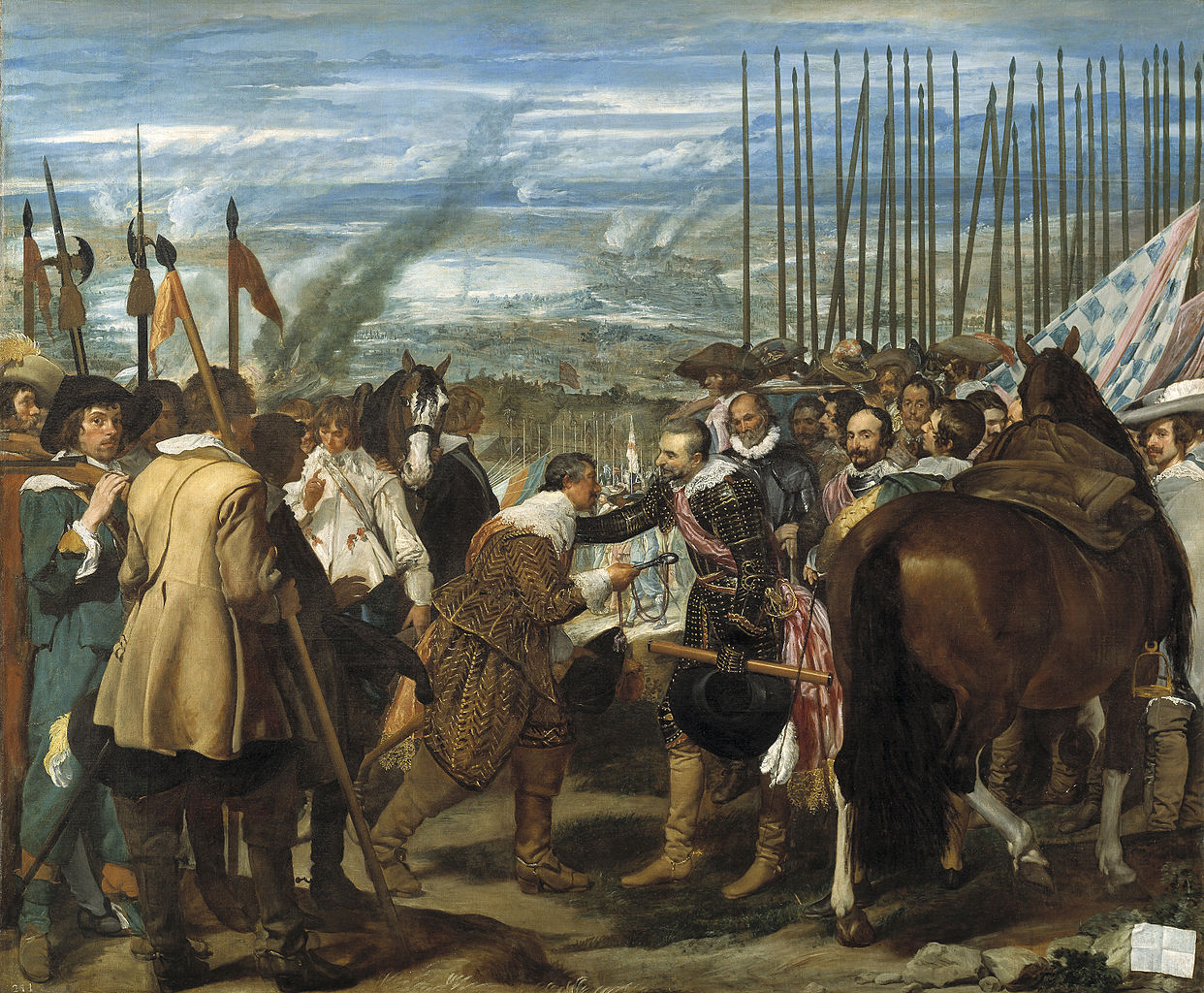 The Surrender of Breda by Diego Velázquez, 1635