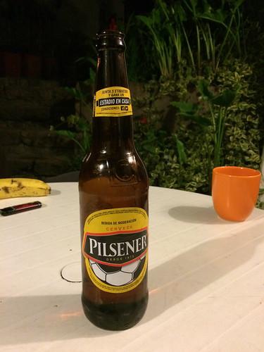 Quito: pas terrible comme bière...