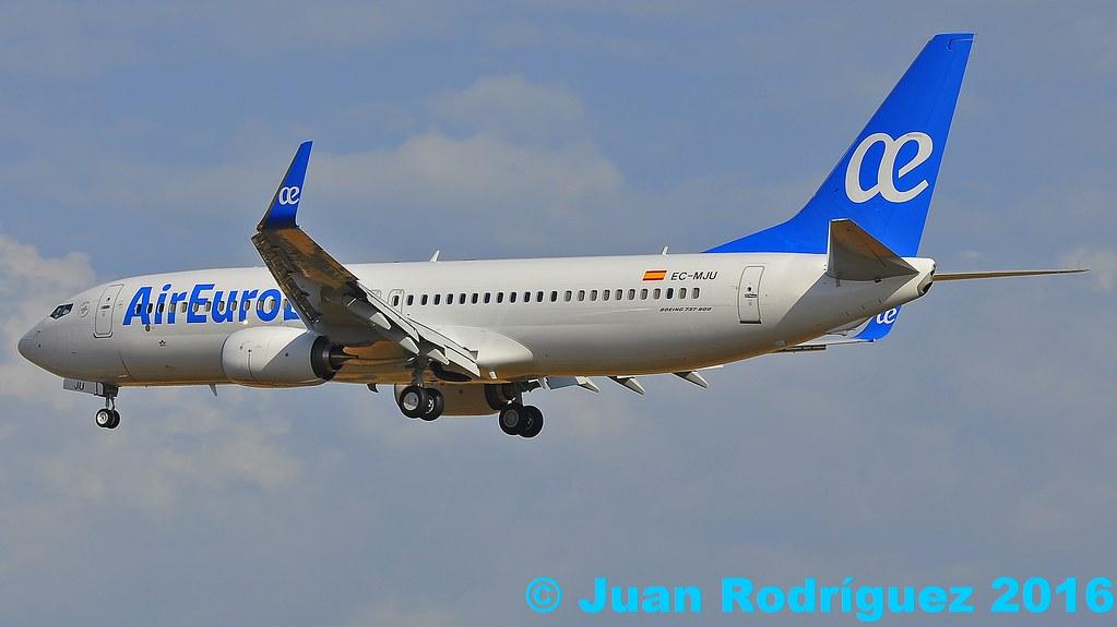 EC-MJU - B738 - Air Europa