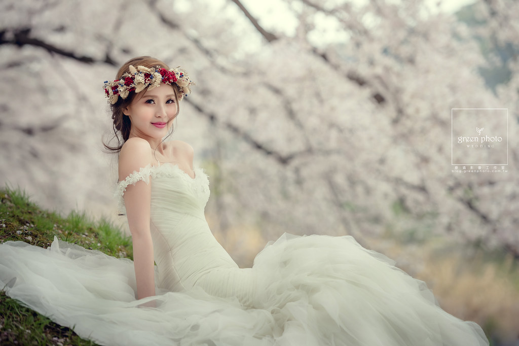 綠攝影像,武少,自主婚紗,海外婚紗,日本,京都,櫻花,婚紗攝影,Alisha&Lace愛儷莎和蕾絲法式手工婚紗,id西服,id tailor,和服,