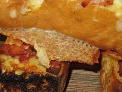 Cheese & Bacon Garlic Bread