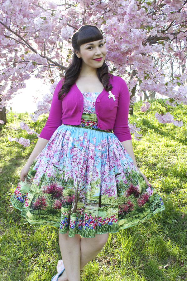 cherry tree dress