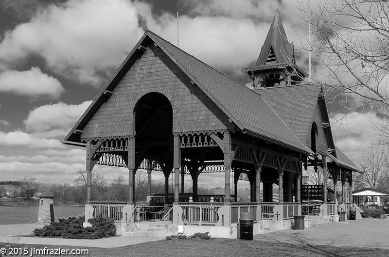 Pottawatomie Park Picnic Pavilion