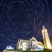 Star Trail over Cornell Clock Tower by supriyamishra0807