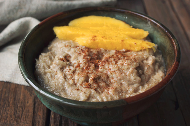 Spiced Coconut Squash Breakfast Porridge