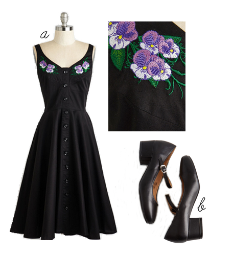 hell bunny violet dress