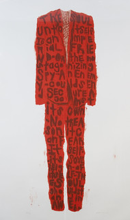 Red Poem Suit