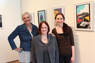 Tue, 05/12/2015 - 09:42 - GCC's Women of the Arts include Fine and Performing Arts Program Director Maryanne Arena, Associate Art Professor Heather Jones and Fine and Performing Arts Secretary Jeanie Thompson