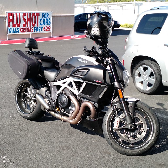 Touring Northern California on the Ducati Diavel