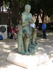 St. Joseph statue in Nazareth